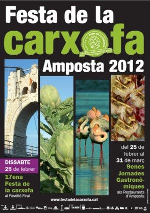 ATUREBRE. Associació Turisme Rural Comarques de l´Ebre > notícies > 17èna Festa de la Carxofa i 9enes. Jornades Gastronòmiques de la Carxofa a Amposta