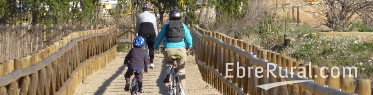 ATUREBRE. Associació Turisme Rural Comarques de l´Ebre >  > Rutes en bicicleta
