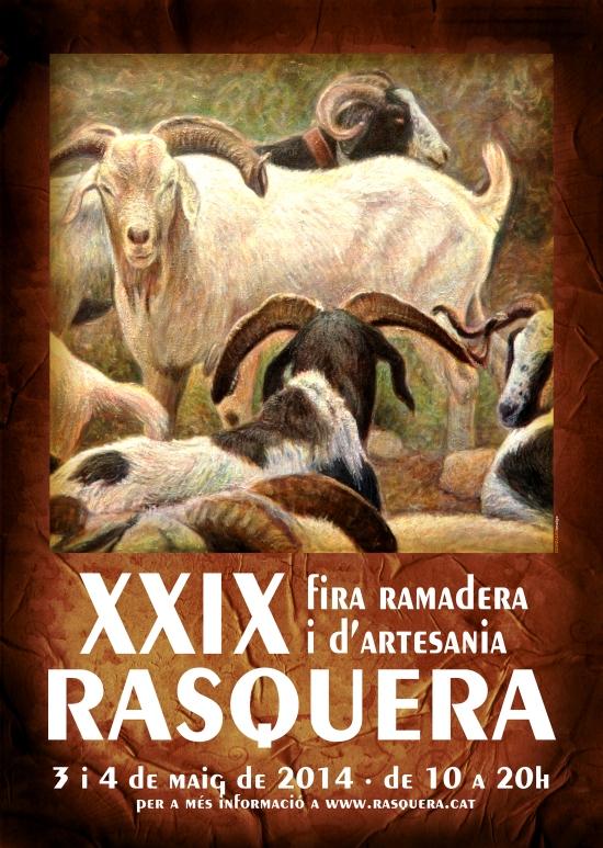 ATUREBRE. Associació Turisme Rural Comarques de l´Ebre > activitats > 29ena FIRA RAMADERA I D´ARTESANIA DE RASQUERA<b>3 i 4 de maig de 2014