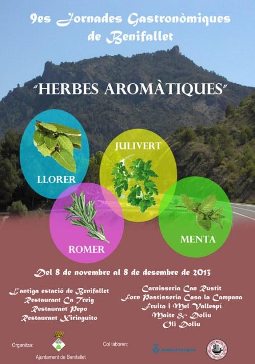 ATUREBRE. Associació Turisme Rural Comarques de l´Ebre > activitats > 9es Jornades Gastronòmiques de Benifallet 2013<br>Del 8 de novembre al 8 de desembre
