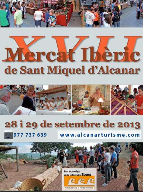 ATUREBRE. Associació Turisme Rural Comarques de l´Ebre > activitats > XVII MERCAT IBÈRIC DE SANT MIQUEL A ALCANAR. 28 i 29 de setembre